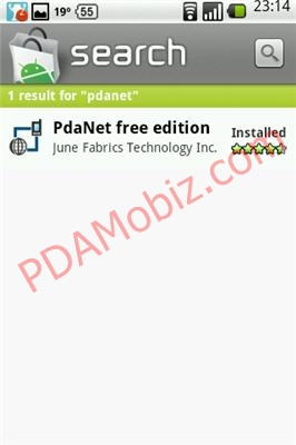 Android Apps: PdaNet for Android แชร์เน็ท Android Phone ไป