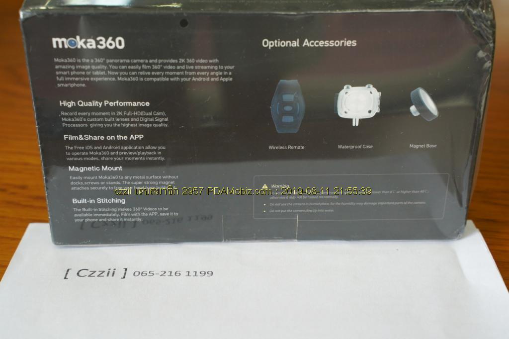ขาย GoPro Hero 3 Black สภาพเนียบๆ แถมฟรีกล้อง 360 องศา 2,900