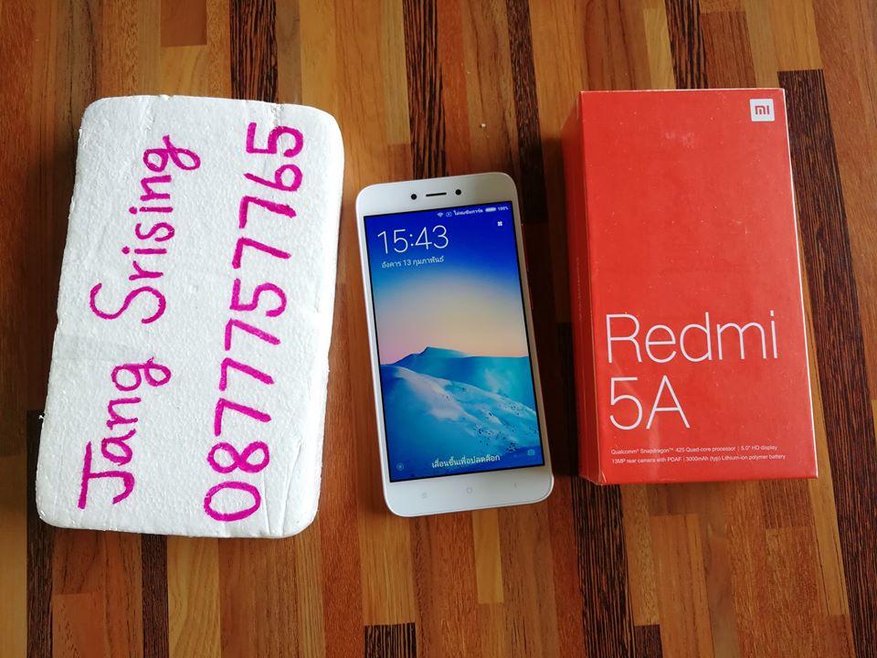 Xiaomi Redmi 5A สีชมพู เครื่องใหม่ แค่แกะออกมาเทส Page: 1